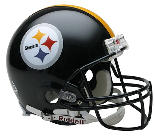 NFL Pittsburgh Steelers Full Size Proline VSR4 Football Helmet