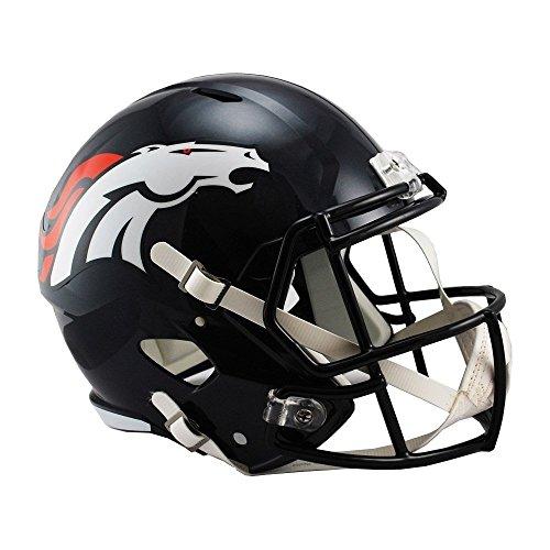Riddell NFL Denver Broncos Full Size Replica Speed Helmet, Medium, Blue