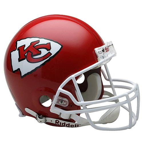 NFL Kansas City Chiefs Full Size Proline VSR4 Football Helmet