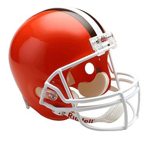 NFL Cleveland Browns Deluxe Replica Football Helmet
