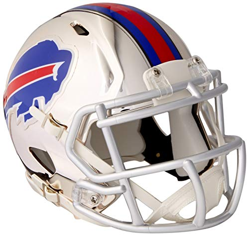 Riddell Chrome Alternate NFL Speed Authentic mini Size Helmet Buffalo Bills
