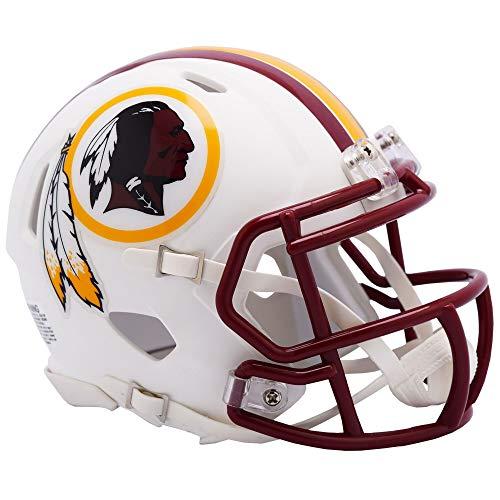 Washington Redskins NFL Flat Matte White Alternate Speed Mini Football Helmet