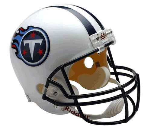 NFL Tennessee Titans Deluxe Replica Full Size Football Helmet