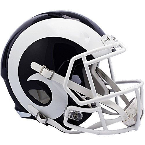 Riddell NFL Los Angeles Rams Helmet Full Size Replica, One Size, Team Colors
