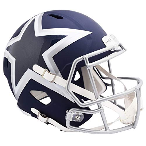 Unsigned Dallas Cowboys AMP Alternate Revolution Full Size Speed Replica Helmet Stock #154963