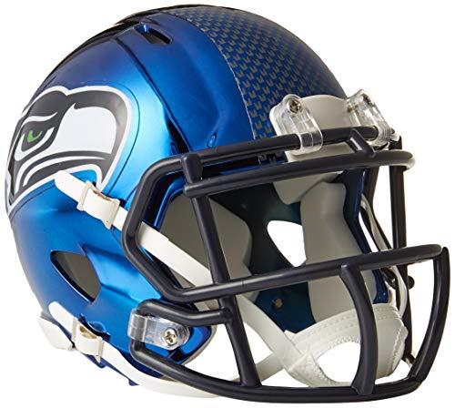 Riddell Chrome Alternate NFL Speed Mini Helmet Seattle Seahawks
