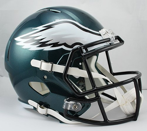 NEW PHILADELPHIA EAGLES RIDDELL FULL SIZE DELUXE SPEED REPLICA FOOTBALL HELMET