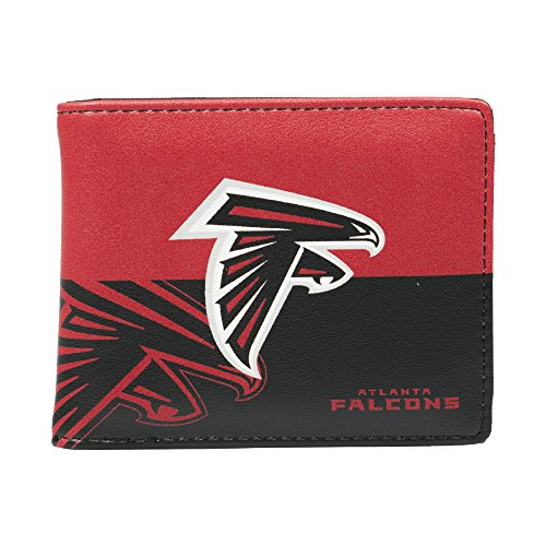 Littlearth NFL Atlanta Falcons Bi-fold Wallet,Red,5' x 4' x 1'