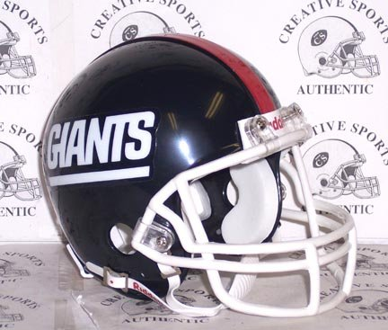 New York Giants - Throwback 1981-1999 (GIANTS) - Riddell Mini Helmet