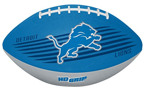 Rawlings NFL Detroit Lions 07731067111NFL Downfield Football (All Team Options), Blue, Youth