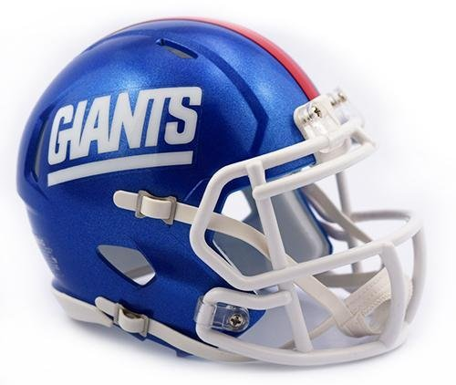 New York Giants Retro 1981-99 Color Rush Riddell Speed Mini Football Helmet