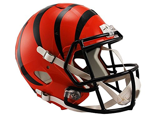 Riddell NFL Cincinnati Bengals Full Size Replica Speed Helmet, Medium, Orange