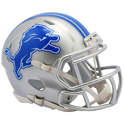 Riddell NFL Detroit Lions Helmet Mini Speed, One Size, Team Colors