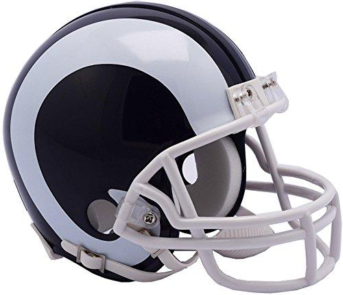 Riddell Los Angeles Rams VSR4 Mini Football Helmet - NFL Mini Helmets