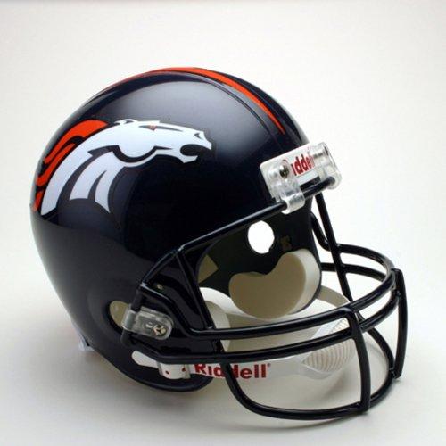NFL Denver Broncos Deluxe Replica Football Helmet