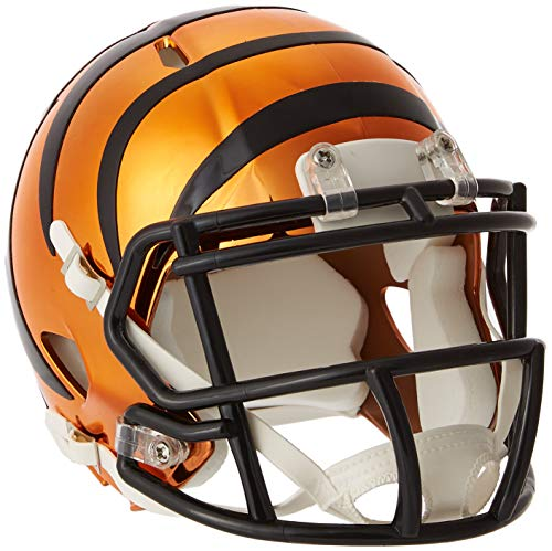 Riddell Chrome Alternate NFL Speed Authentic mini Size Helmet Cincinnati Bengals