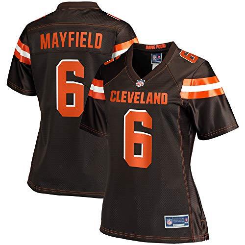 NFL PRO LINE Women's Baker Mayfield Brown Cleveland Browns Player Team Jersey
