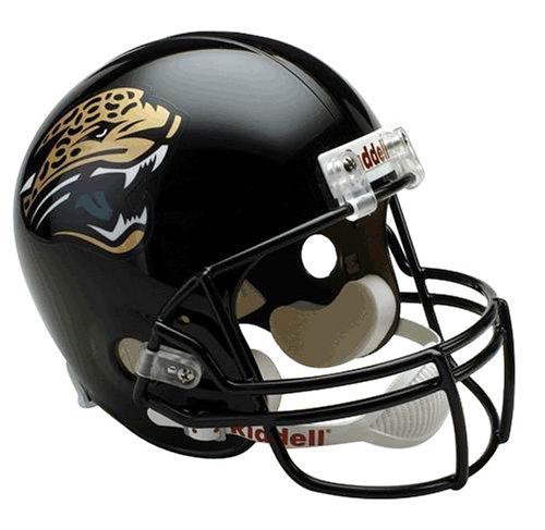 NFL Jacksonville Jaguars Deluxe Replica Football Helmet