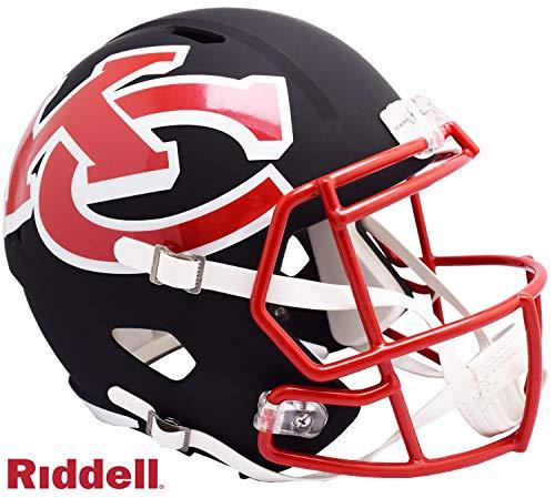 Kansas City Chiefs AMP Alternate Series Riddell Speed Full Size Replica Football Helmet - NFL Replica Helmets