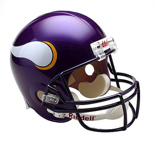 NFL Minnesota Vikings Deluxe Replica Football Helmet