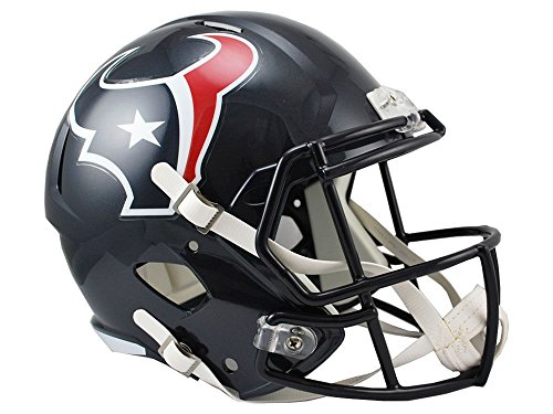 Riddell NFL Houston Texans Full Size Replica Speed Helmet, Medium, Red
