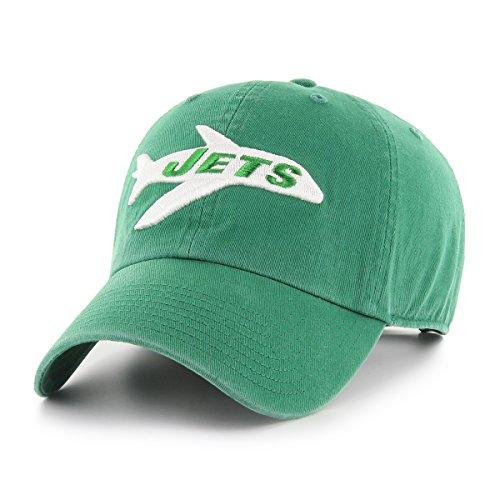 OTS NFL New York Jets Men's Challenger Adjustable Hat, Legacy, One Size