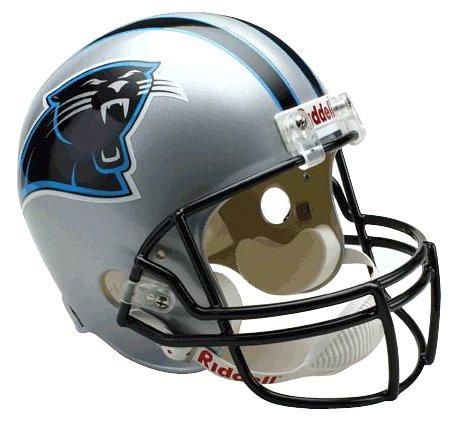 NFL Carolina Panthers Deluxe Replica Football Helmet