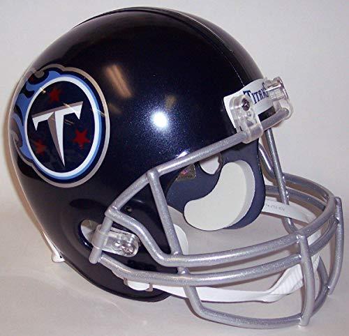 Tennessee Titans Riddell Full Size Deluxe Replica Football Helmet - NFL Replica Helmets