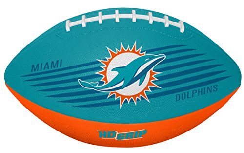 Rawlings NFL Miami Dolphins 07731074111NFL Downfield Football (All Team Options), Blue, Youth