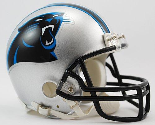New Riddell Carolina Panthers VSR4 Mini Football Helmet