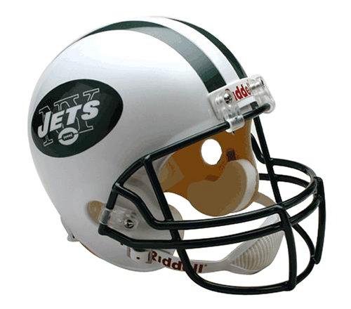 NFL New York Jets Deluxe Replica Football Helmet