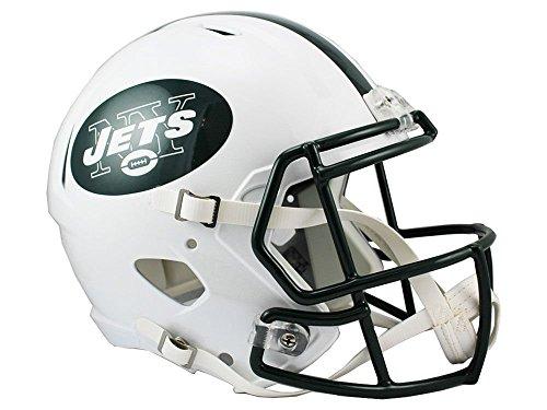 Riddell NFL New York Jets Full Size Replica Speed Helmet, Medium, Green