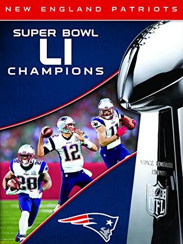 NFL Super Bowl LI Champions New England Patriots