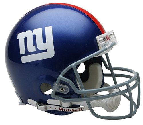 NFL New York Giants Full Size Proline VSR4 Football Helmet