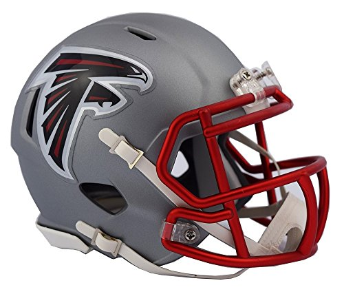 Atlanta Falcons - Blaze Alternate Speed Riddell Mini Football Helmet - New in Riddell Box