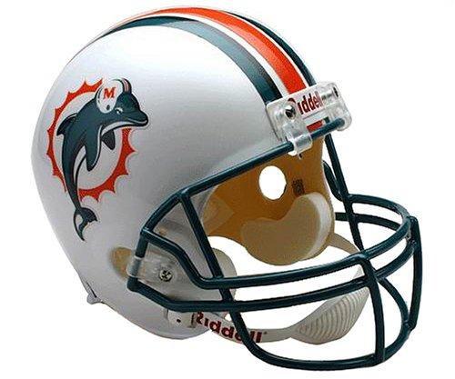 NFL Miami Dolphins Deluxe Replica Football Helmet