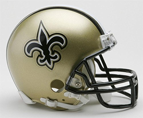 NFL New Orleans Saints Replica Mini Football Helmet