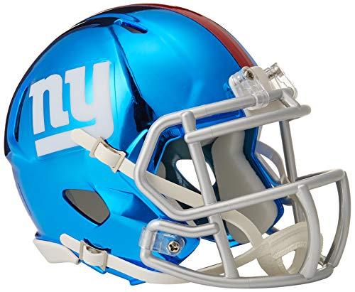 Riddell Chrome Alternate NFL Speed Authentic Mini Helmet New York Giants