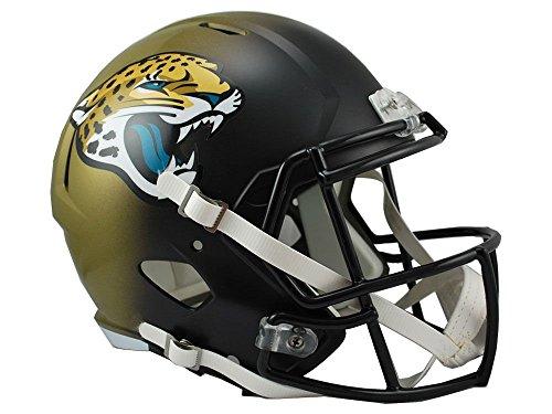 Riddell NFL Jacksonville Jaguars Full Size Replica Speed Helmet, Medium, White