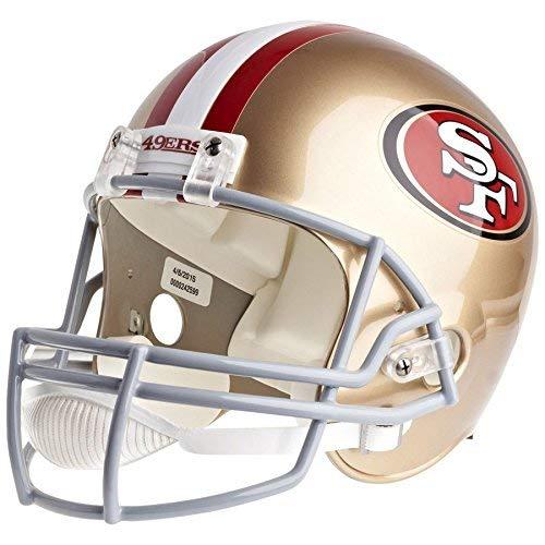 Riddell San Francisco 49ers Officially Licensed VSR4 Full Size Replica Football Helmet