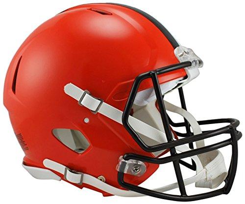 Riddell NFL Cleveland Browns Full Size Revolution Speed Helmet, Medium, Orange