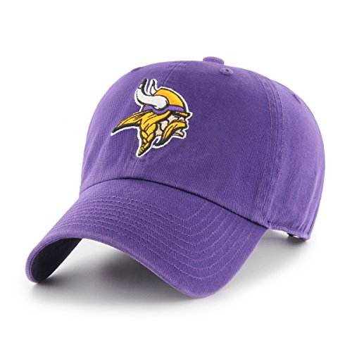 OTS NFL Minnesota Vikings Men's Challenger Adjustable Hat, Alternate Team Color, One Size