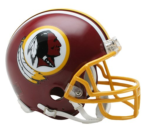 New Riddell Washington Redskins 1982 Throwback VSR4 Mini Football Helmet
