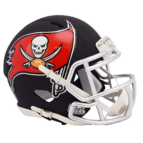 Tampa Bay Buccaneers NFL Black Matte Alternate Speed Mini Football Helmet