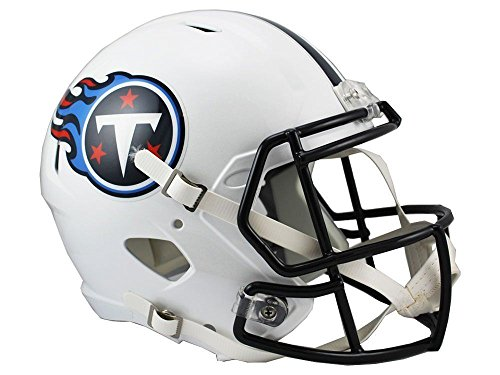 Riddell NFL Tennessee Titans Full Size Replica Speed Helmet, Medium, Blue