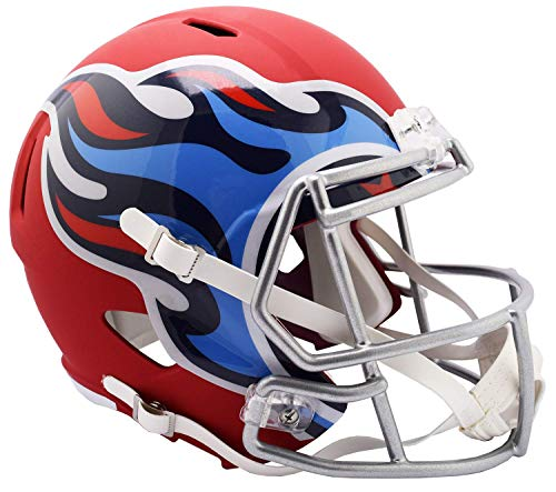 Riddell NFL Tennessee Titans Full Size Replica Helmetamp Alternate, Team Colors, One Size