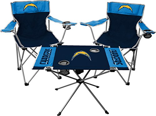Rawlings NFL Los Angeles Chargers Tailgate Kit, Team Color, One Size