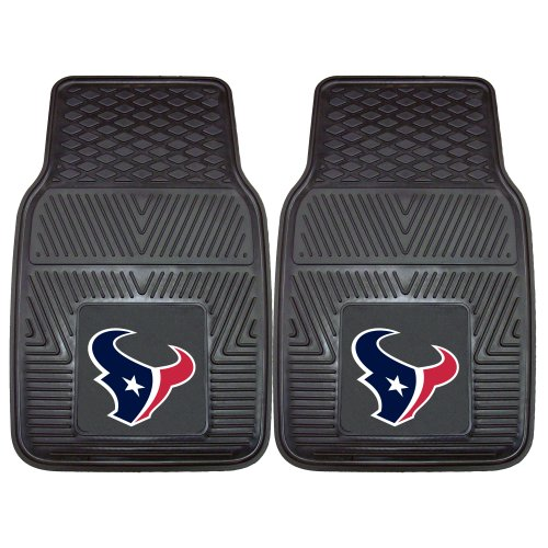 Fanmats 8993 NFL-Houston Texans Vinyl Universal Heavy Duty Fan Floor Mat