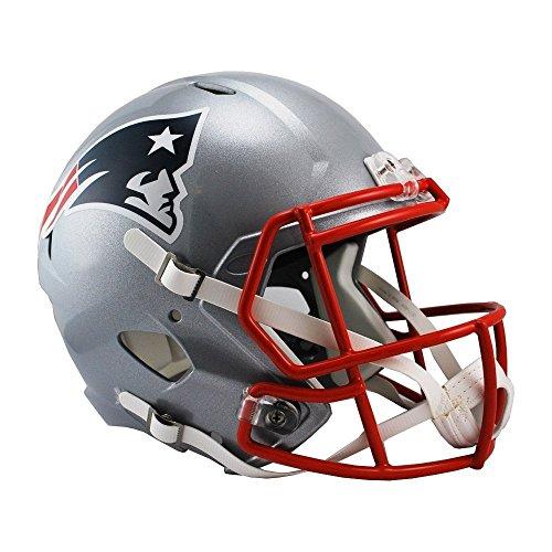 Riddell NFL New England Patriots Full Size Replica Speed Helmet, Medium, Red
