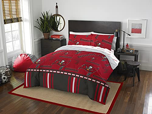 The Northwest Company NFL Tampa Bay Buccaneers Rotary Queen Bed in Bag Set, 86' x 86'